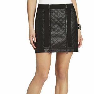 Bcbg Maxazazria Roxy Quilted Mini skirt